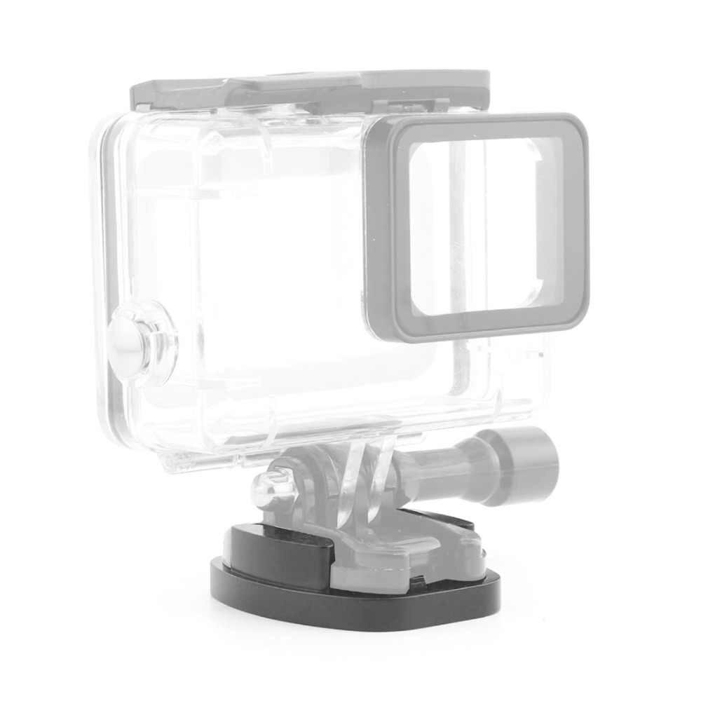 Алюминиевый плоский штатив крепление адаптер для всех Gopro Hero 5 4 3/SJcam/Yi экшн-камер с 1/4 винтовым отверстием аксессуар