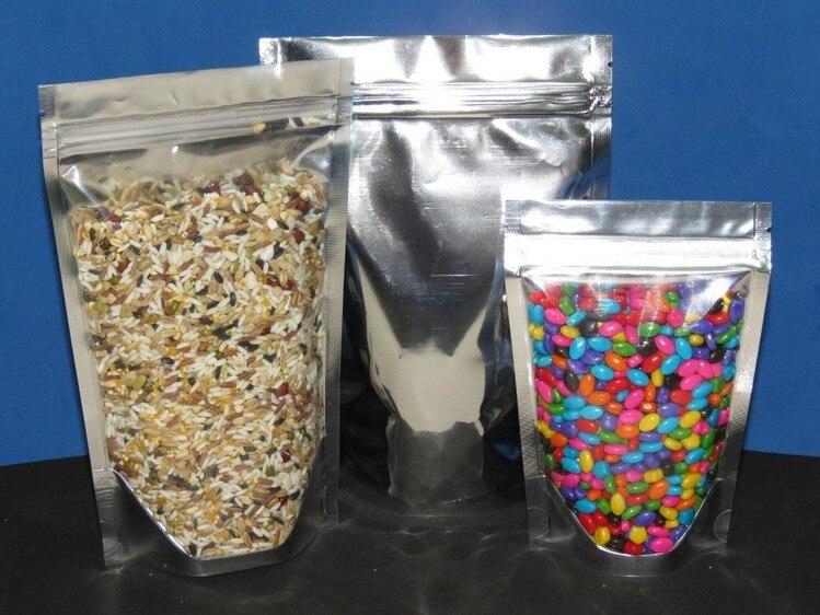 US $29 99 |10*15+3cm Stand Up Aluminum foil bag Ziplock bag Plastic  packaging bag Nuts packaging bag on Aliexpress com | Alibaba Group