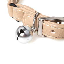 Fashion Pearl Embellished Leather Collar
