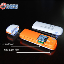 3G Modem 7.2Mbps External Mobile Broadband Unlocked Universal Wireless HSUPA HSDPA USB Dongle Support SIM Slot