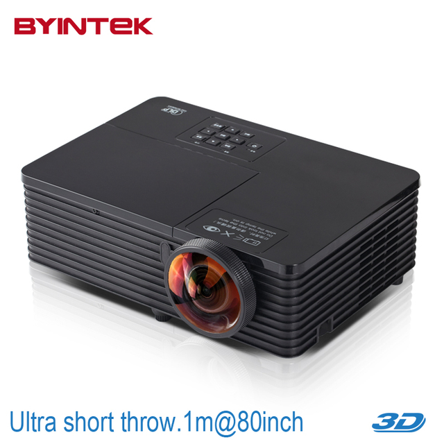 Business Home Theater Full HD 1080P 300inch 3500ANSI Outdoor DLP 3D Cinema Film Short Throw DVD VGA Digital Video Projector