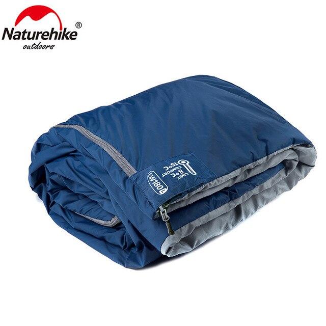 Naturehike 2 Persons Sleeping Bag Envelope Type Splicing Portable Outdoor Ultralight Sleeping Bag Spring Autumn Camping Hiking 5