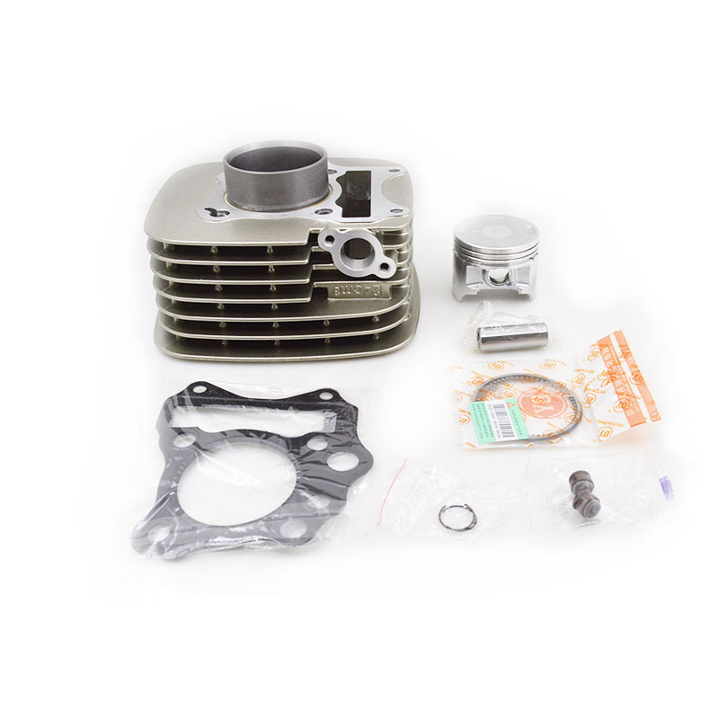 High Quality Motorcycle Cylinder Kit For Qingqi Suzuki GT125 QS125-5 QS125-5C QS125-5A GT QS 125 125cc Engine Spare Parts motercross high quality motorcycle instrument speedometer odometer assembly qs125 5 gt125 gsx gn125 gs125