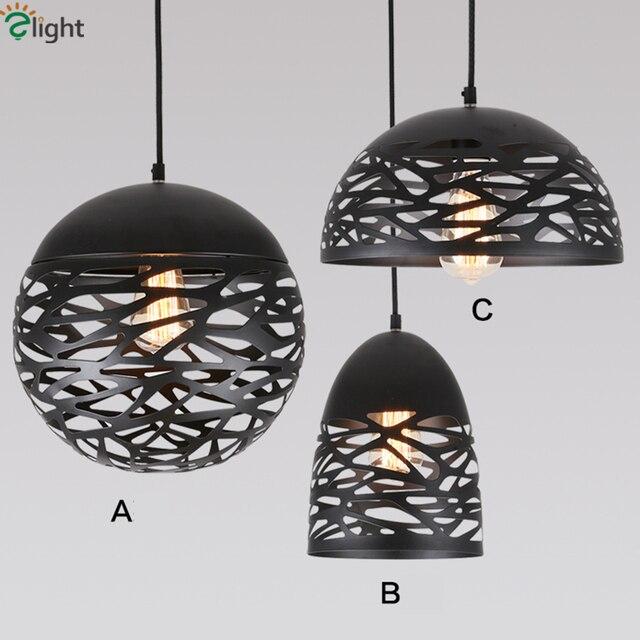 studio italia lighting. Simple Italia Studio Italia Kelly Pendant Light Painte Metal Led Hollow  Iron Hanging Lamp Dining Room For Lighting