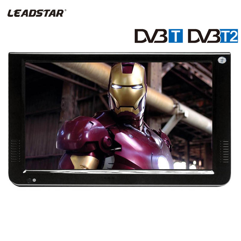 LEADSTAR HD Portable TV 10inch Digital And Analog LED Televisions Support TF Card USB Audio Car Television DVB-T DVB-T2 AC3 7 inch portable led tv television dvb t mpeg4 pvr black