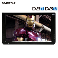 10 2inch DVB T2 Normal Verison HD LED Portable TV Media Player Support VGA Input With