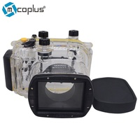 Mcoplus 40m/130ft Underwater Waterproof Diving Housing Camera Case for Canon Powershot G11 G12