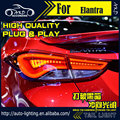Car Styling Tail Lamp for Hyundai Elantra Tail Lights Elantra MD LED Tail Light DRL Turn Signal+Brake+Reverse auto Accessories