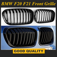 F20 LCI ABS front bumper dual grille for BMW facelifted F21 120i 118i 118d 116i M135i 2015 - 2018