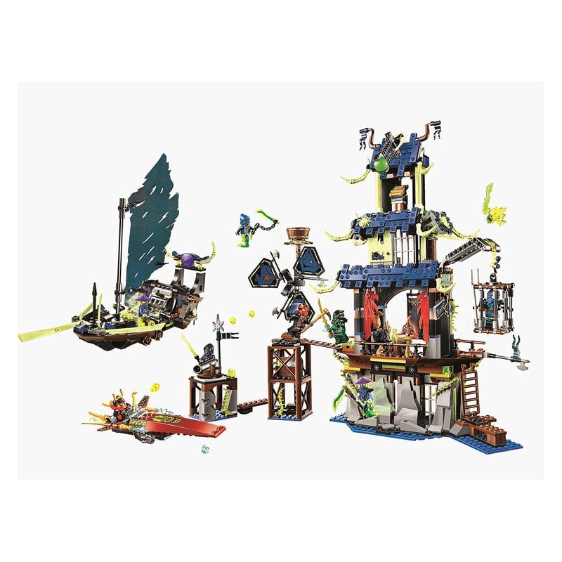 купить Lepin Pogo Bela Phantom Of Ghost Ninjagoe Thunder Swordsman Building Blocks Bricks Compatible Legoe Toys недорого