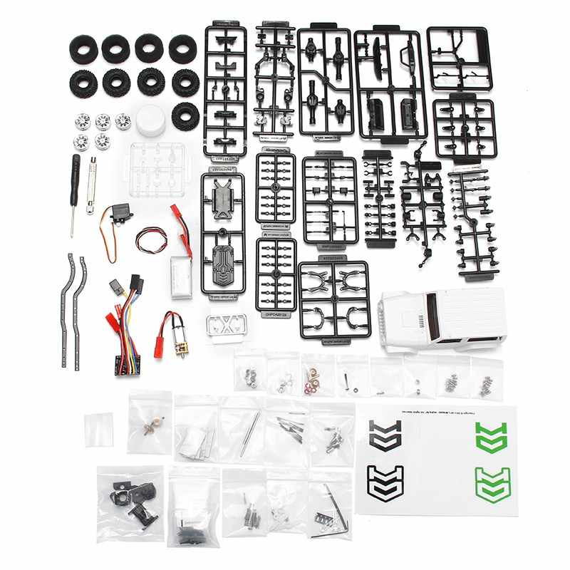 Orlandoo OH35A01 1:35 2.2G Crawler Kit Motor ESC Servo Batterij Combo RC Car KIT DIY Assemblage RC Speelgoed Voor kids Intelliengence
