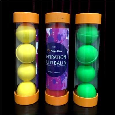 цена на Top Quality Inspiration Multi Balls - 1.75 Inch,Three Color For Choice,Stage Magic,Ball Magic Trick,Fun,Magia Toys Magie Classic