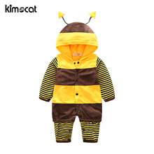 Kimocat/Одежда для маленьких мальчиков и девочек яркий комбинезон