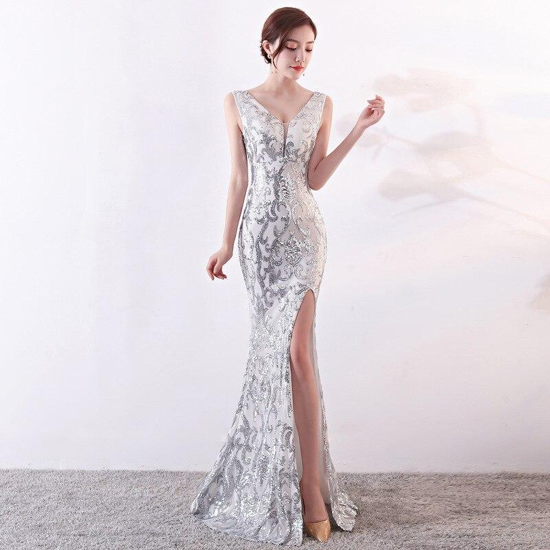 Femmes soirée paillettes d'été robes banquet décontracté rockabilly sexy club soirée nuit robe grande taille brodé blanc floral