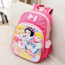 Hot Snow White Girls School Bags Princess Schoolbags Children Cartoon Elsa Backpack Kids Bookbag Mochila Escolar Infantis