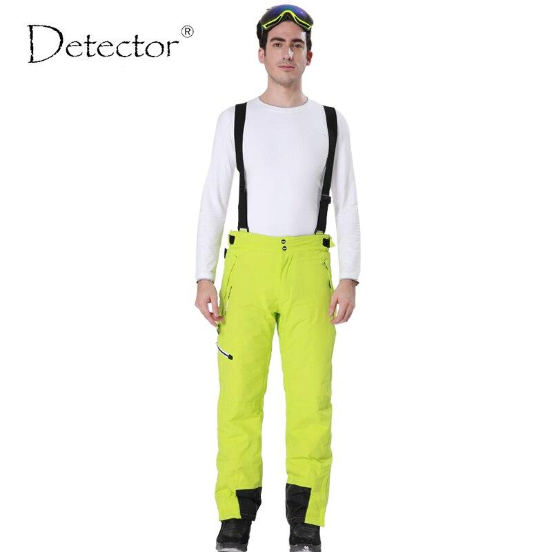 Détecteur Extérieur Sport Pantalon Hommes Randonnée Camping Pantalon Trekking Windstopper Imperméable Monter Softshell Chaud Hommes Ski Pantalon