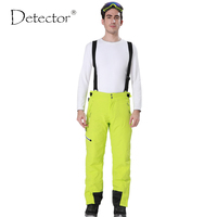 Detector Outdoor Sport Pants Men Hiking Camping Pantalon Trekking Windstopper Waterproof Climb Softshell Warm Mens Ski