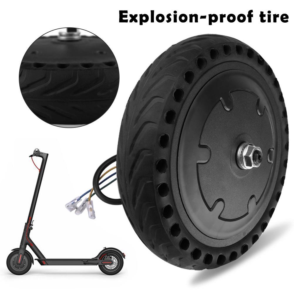 Nouvelle mise à niveau Xiaomi Mijia M365 pneu Tube roue intelligente Scooter électrique pneu vide solide pneu pour planche à roulettes éviter pneu pneumatique