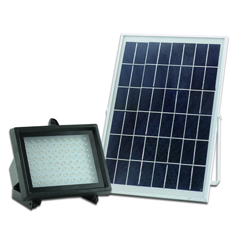 High Brightness 80Leds Li-ion Battery Auto-sensor Control Solar LED Lights Outdoor Lighting Lamp for Garden Home Decoration