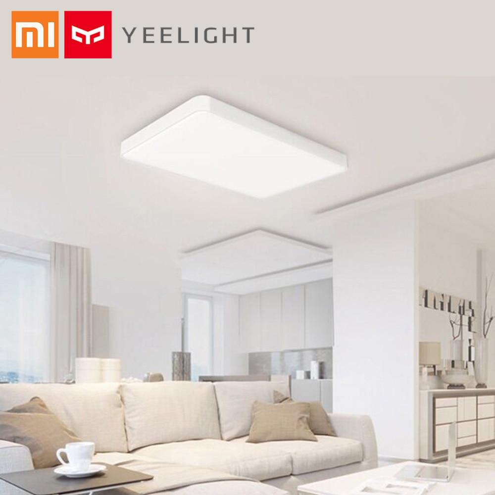 Оригинальный Xiaomi Yeelight потолочный светильник светодио дный Pro светодиодный Ra95 поддержка приложение управление Google Voice Alexa для гостиная