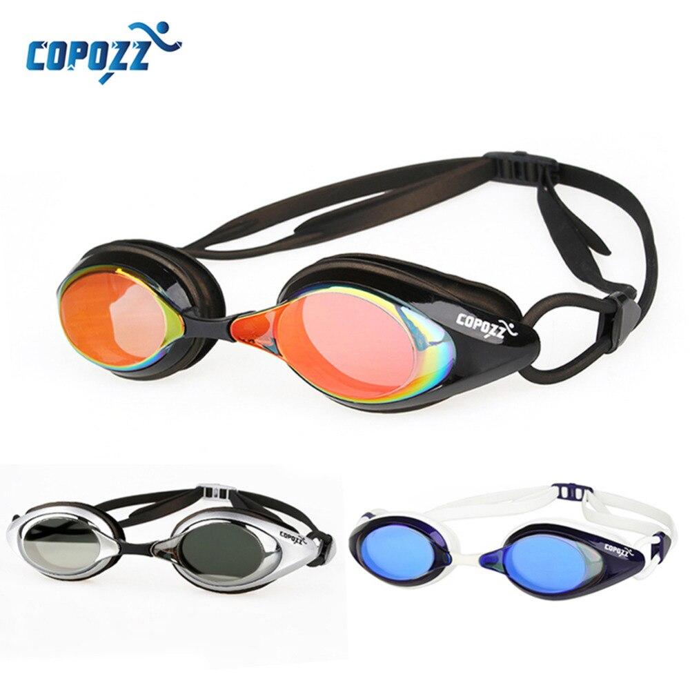 Copozz natación gafas de natación gafas de alta definición a prueba de agua anti