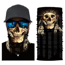 Biker Bandanas (5 pcs/lot) AC107 Outdoor Sports Hat Cycling Turban Head Scarf Face Mask