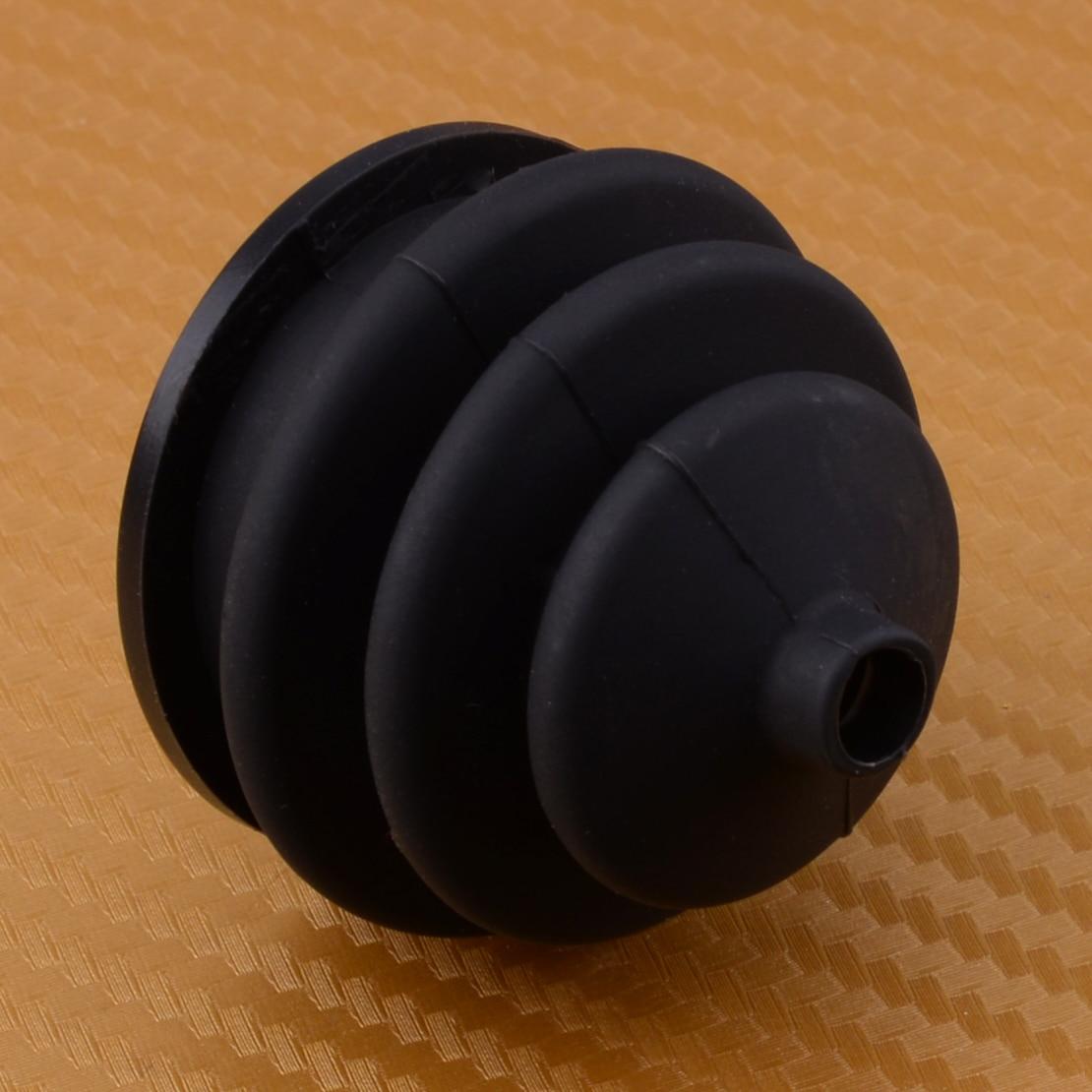 LETAOSK New  Wheelchair Rubber Shark Drive Joystick Mobility Knob Gaiter Button Controller Power Option Tilt