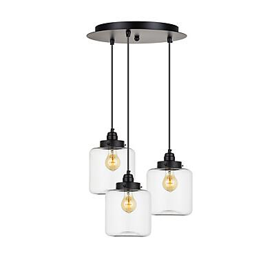 IWHD 3 Heads Retro Vintage Lamp Style Loft Industrial Lighting Edison Pendant Lights Fixtures Glass Hanglamp Lampen vintage loft industrial edison flower glass ceiling lamp droplight pendant hotel hallway store club cafe beside coffee shop