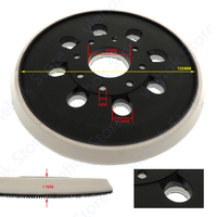 5 zoll 8 17 loch Grundlage Orbit Sander Ersetzen für BOSCH PEX 220A GEX 125 1 AE GEX125 1AE GEX125 1A ROS10 ROS20VS RS035 PEX220A|Elektrowerkzeuge Zubehör|Werkzeug -