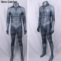 Hero catcher yüksek kalite yeni siyah raimi örümcek adam kostüm siyah spidermancostume custom made demir raimi spiderman yetişkin suit