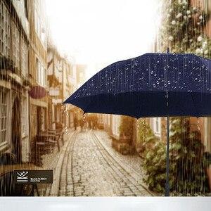 Image 3 - Guarda chuva grande masculino nx, guarda chuva longo com camada dupla 145cm a 150cm para homens negócios