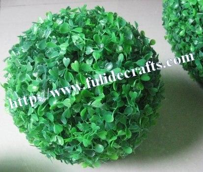 SPR 28cm  Milan grass ball artificial flowers meters gardening art grass ball artificial Bonsai plants Christmas gift