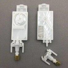 10 قطعة الحبر المثبط DX5 رئيس مع موصل ل ميماكي JV33 JV5 CJV30 Mutoh غالاكسي Thunderjet ايكو sovlent طابعة رأس الطباعة قلابة