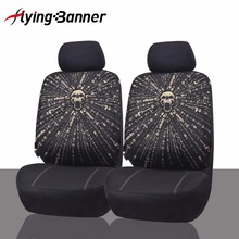 High Quality Car Seat Cover 2Front Seat Cover Universal Polyester Composite Sponge Car Seat Cushion Car Styling Auto Accessories