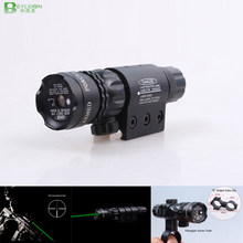 Red Green Laser Tactical Insight ultra long distance laser sight scope battery Flashlight Torch Light For Pistol Handgun gun(China)