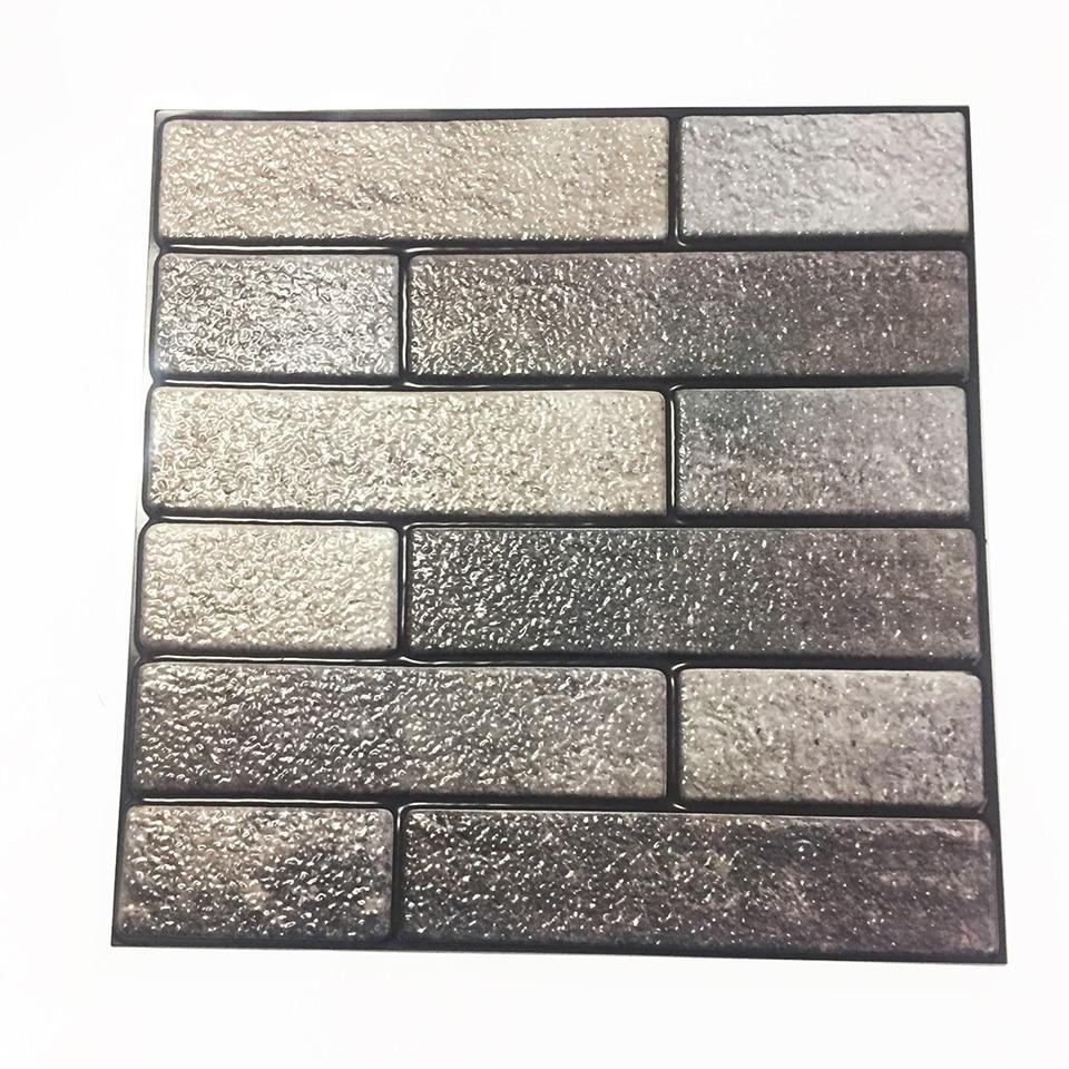 - 3D Brick Self Adhesive Wallpaper For Kitchen Backsplash Tiles Peel