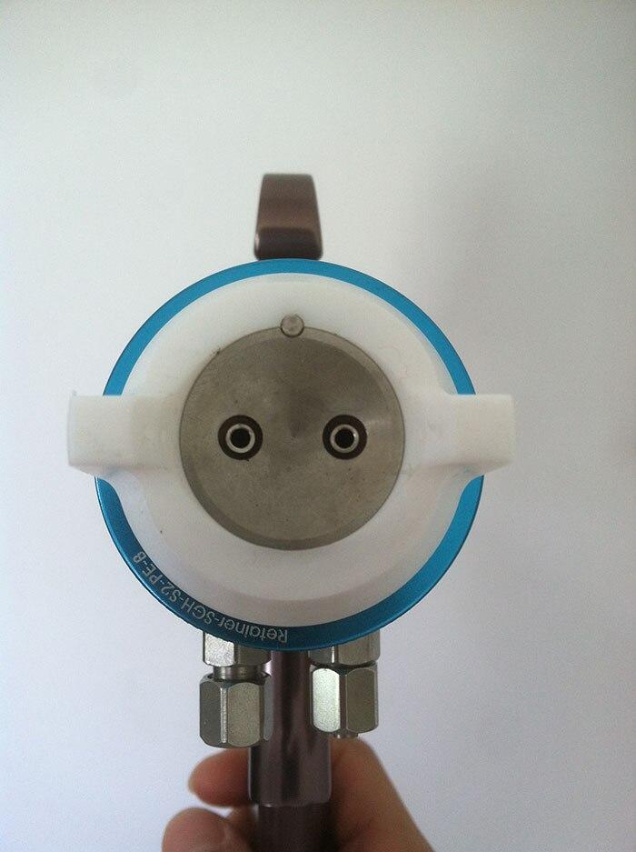 Nano kroomkattega värvipüstoli topeltotsik 1,3 mm pihustuspüstol - Elektrilised tööriistad - Foto 3