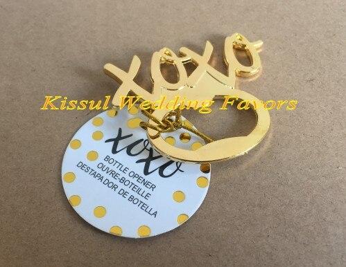 (30 Teile/los) Gold hochzeit souvenirs geschenk von XOXO Gold Flaschenöffner gastgeschenke für hochzeit tür geschenk und Hochzeits begünstigt-in Party-Geschenke aus Heim und Garten bei AliExpress - 11.11_Doppel-11Tag der Singles 1