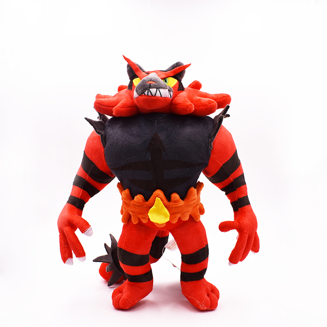 2017 free shipping incineroar plush dolls 33cm plush toys cartoon stuffed animals toys soft christmas toys - Free Christmas Toys