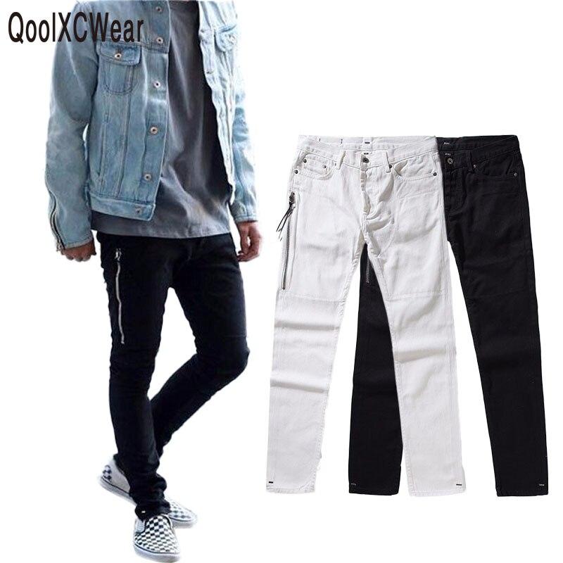 2017 Новый Для мужчин S Biker Джинсы для женщин мотоцикл Slim Fit промывали черный серый синий мото джинсовые штаны Джоггеры для худеньких Для мужчи...