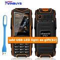 VKworld Stone V3 Plus V3 max v3S IP67 Daily Waterproof Shockproof mobile Phone Power Bank Long Standby Outdoor elder cellphone