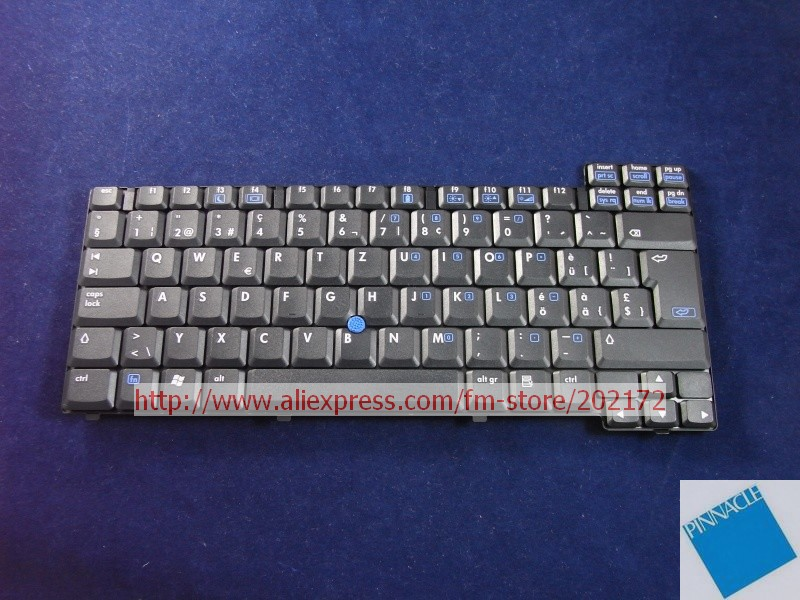 Brand New Black Laptop Notebook Keyboard 378203-111 359087-BG1 6037B0000416 For HP Compaq nc8220 nc8230 series (Switzerland)