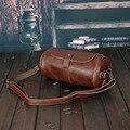 Прилив! новый стиль моды личности кожаный мешок ведро мешок материал высокого качества Уникальный дизайн сумки ретро сумка