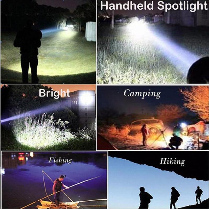 4 дюйма ультра яркий 100 Вт портативный ручной охотничий фонарь Автомобильный светодиодный прожектор спасательная Миссия освещение 12 В Автомобильные фонари