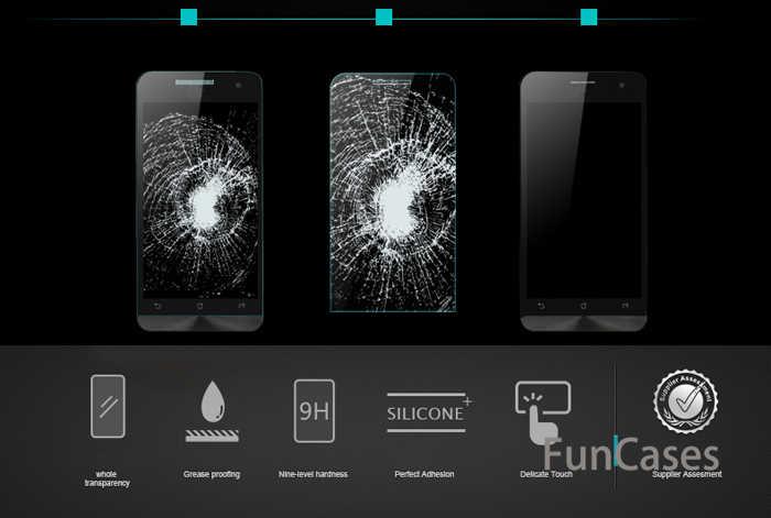 9H الزجاج المقسى ل Asus Zenfone 2 الليزر Ze500KL Ze550KL Ze500CL Ze550ML 3 ماكس Zc550KL 4 5 ZD551KL لايف G500TG الزجاج حامي