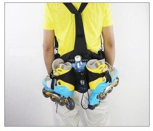 Image 1 - Inline Skate Bag Roller SKate Bagpack Shoulder Waist Backpack Daily Skating Sports Bags 5 Colors Available