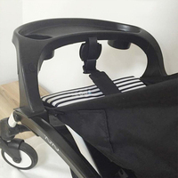 Aiqi single stroller accessory baby dinning snack plate tricycle for twins double f belt