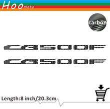 For Honda CB 500F 500 F Motorcycle Sticker Decal Carbon Car Sticker Wheels Fairing Helmet 5D Carbon Fiber Sticker(China)