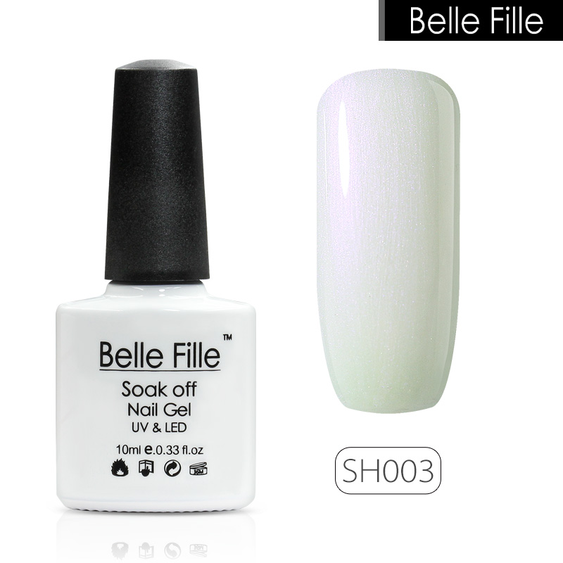 Belle Fille Shell 10мл Shell Gel Nail Polish 12 - Маникюр - фото 3