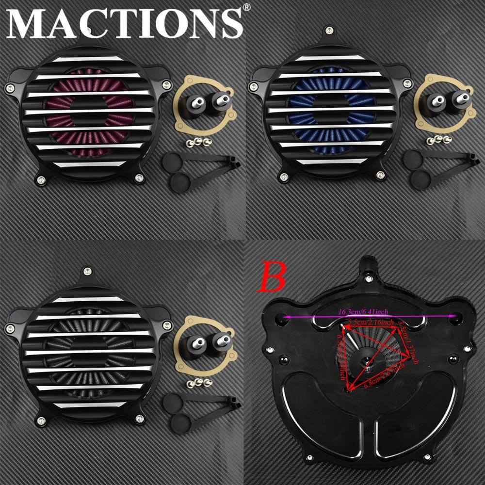 Мотоцикл воздухоочиститель Впускной системы фильтр для Harley Dyna 2000 2014 15 16 17 Softail 2000 2013 14 15 Touring 2000 2005 06 07